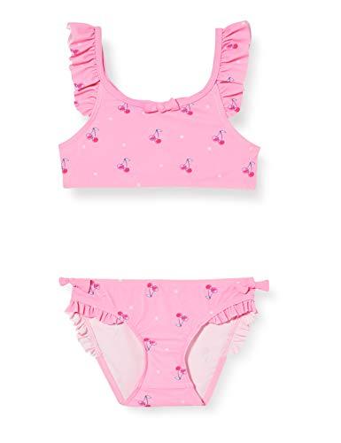 Sanetta Mädchen Bikini Badebekleidungsset, Rosa (Rosa 3950), (Herstellergröße: 128)