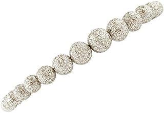 Bracciale Oro Bianco 18kt e Diamanti