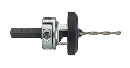 Vorbohrer mit verstellbarem Senker für Senkkopfschrauben, Modell:Ø 3.5 / Für Schraubengrösse = 5.5-6