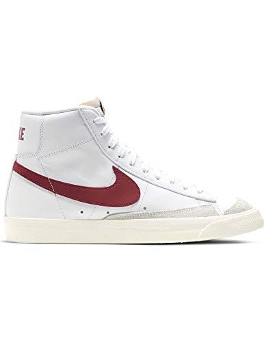 Nike Blazer Mid '77 VNTG, Zapatillas de básquetbol para Hombre, White/Worn Brick/Sail, 35.5 EU