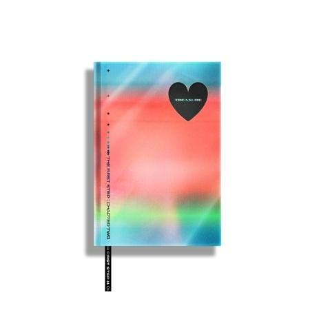 Treasure The First Step : Chapter Two 2nd Single Album Black Version CD+1p Poster+150p PhotoBook+1p Card+1p Selfie+1p Post+Sticker+Bookmark+Message PhotoCard Set+Tracking