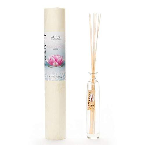 Boles d'olor - Mikado Ambientador Difusor de Perfume para Hogar, 200 ml (Flor de Loto)