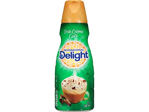 International Delight Irish Creme Cafe Coffee Creamer, 32 Fluid Ounce -- 6 per case.