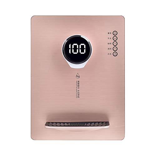 Distributeur d'eau chaude instantané, Thermostat Smart Touch Distributeur d'eau chaude et froide, Avec sécurité enfant Chaudière à eau à chaleur rapide 3S, Convient pour la préparation de café et de