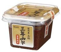 オーサワジャパン 国内産立科三年みそ(玄米) 300g 10個セット