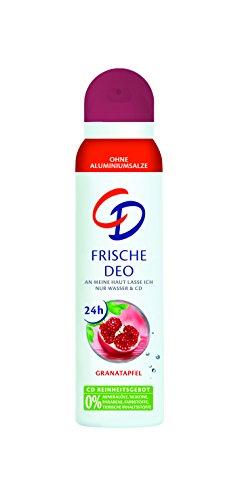 CD Frescas Desodorante Spray Granada 150ML Para 24h Protección Antes Körpergeruch