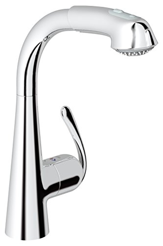 GROHE Zedra Küchenarmatur, Komfort-Spülbrause 32553000