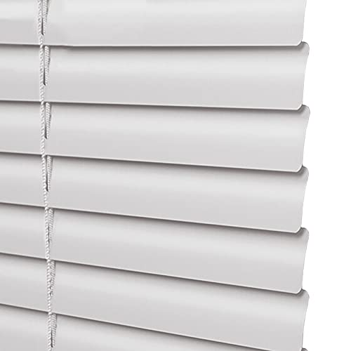 uxhbla blinds Home Kitchen Blackout Window Blinds, 50-130cm Wide by 100-230cm High Size Customizable, Light Filtering for Office Balcony, White (Color : W 60cm, Size : H 120cm)