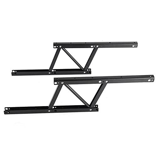 Easy to use 1Pair 38 * 16.5cm Levante el mecanismo de la mesa de café Muebles de la tabla Hardware para el uso de la tabla para el escritorio del gabinete de la tabla Bisagras de primavera Sturdy