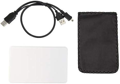Carcasa para Disco Duro Externo Negro Quanjucheer 2,5, USB 2.0, SATA