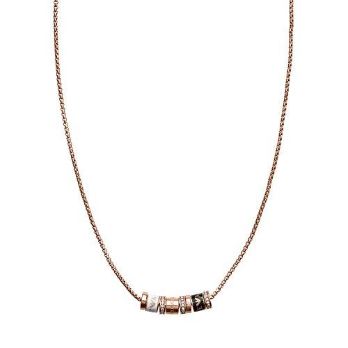 Emporio Armani Damen - Halskette Edelstahl