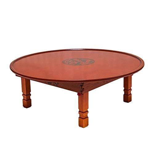 Escritorio de oficina en casa Ronda de Corea Mesa plegable Pata de Asia Mueble antiguo piso de mesa for la cocina tradicional de estar sala de la tabla de madera Tablas Nest (Tamaño: 80x29cm) escritor