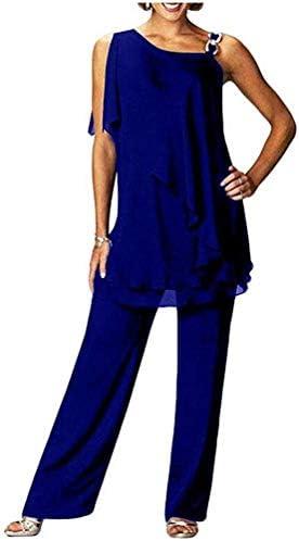 Royal blue suit for ladies _image1