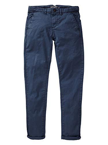 Petrol Industries - jongensbroek met riem, petrol ind, in grootte verstelbaar, donkerblauw - TRO583