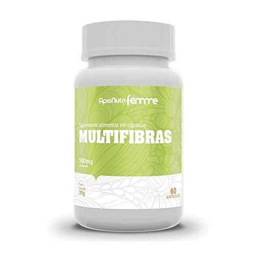 Multifibras 500mg (60 caps), Apisnutri