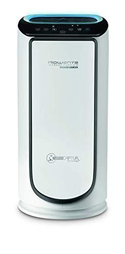 Rowenta PU6080 Luftreiniger Intense Pure Air Connect, App-Steuerung, Extrem leise, Vorbeugung gegen Allergien, Luftwäscher, Partikelfilter, Automatische Reinigungsleistung