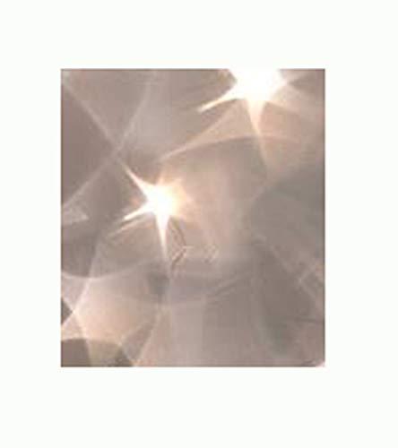 Glorex 6 1384 201 - PVC-Folie mit Sternen Effekt, transparent, ca. 50 x 100 cm, ideal für wunderschöne Lichteffekte