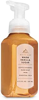 Bath and Body Works Signature Collection Warm Vanilla Sugar Anti Bacterial Foaming Hand Soap NEW Look!!! 8.75oz