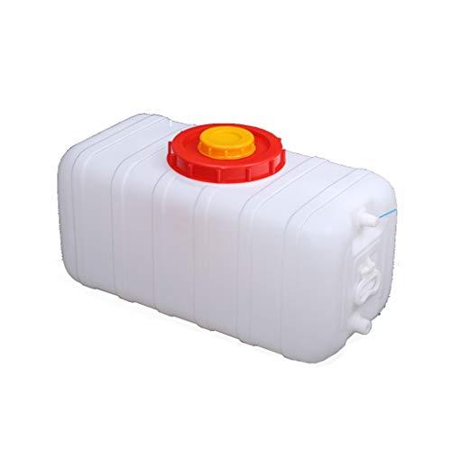 Tanque De Agua De Plástico Alimenticio Cubo De Purificación De Agua 110 Litros De Agua Depósito Bidón De Agua Con Grifo Envase Agua Que Acampa Impermeable Y Resistente Portátil Para Auto, Viajar, Sen