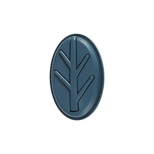 Caijieguag percheros Pared Ganchos de joyería no Perforados Plegables, Ganchos de Rama para Almacenamiento de Mesa, Ganchos para Ropa y Sombreros, Ganchos de joyería (Color : Blue)