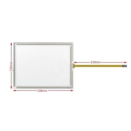 Ersatzbildschirm, 14,6 cm (5,7 Zoll), Touchscreen, Glasscheibe, Ersatz für TP177A TP177B TP177 Micro K-TP178 Micro 138 x 109 mm, Reparaturset, Ersatzbildschirm