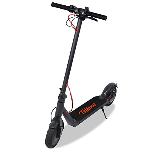 "Tsmine Electric Scooter for Adults 250W Motor Foldable Sport Scooter Electric 15.5 MPH Max Speed 8.5"" Air-Filled Tire Portable Motor Scooter Cruise Control Long Range Lightweight Commuter Scooter"