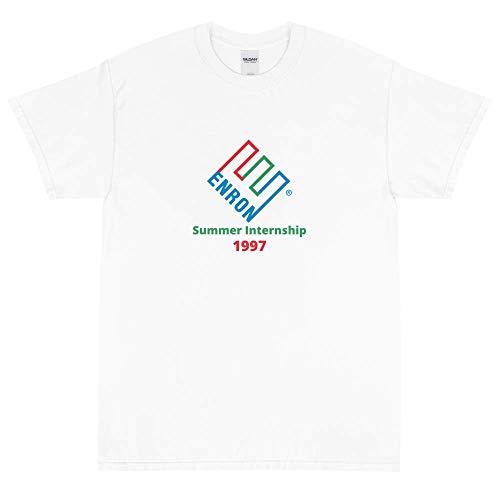 mybrand Enron Summer Internship Funny Meme Unisex T-Shirt (Small) White