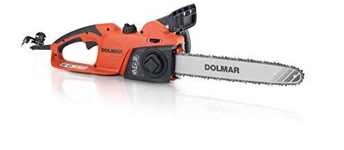 Dolmar Elektro Kettensäge (1800 W, Öltank-Inhalt 200 ml. Schienenlänge 35 cm, mit Auslaufbremse, mit Handschutz) ES39TLC
