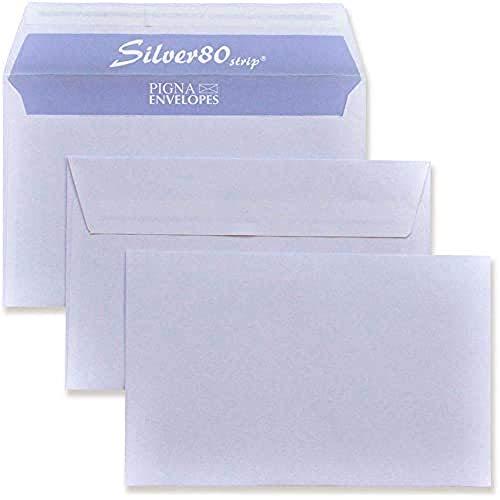 Silver Strip B0097685 500 Buste Commerciale, F.To 120 x 180 in Carta Uso Mano Fsc 80 g