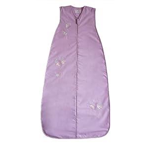 El sueño bolsa 130cm niñas Flutterbyes bebé saco de dormir 0.5Tog verano (LILA)