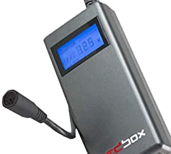HEDBOX | RP-DC80 | Professional Digital LCD Gold V Moun/Lock Battery Charger 16.8V/2.1A and Power Supply Unit 12V to 17V/100W