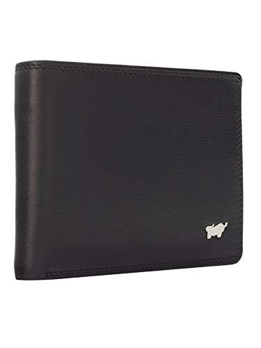 BRAUN BÜFFEL Geldbörse Golf 2.0 aus echtem Leder - 11CS - schwarz