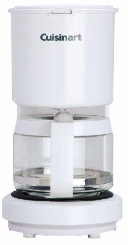 Cuisinart 4-Cup コーヒーメーカー DCC400JW (ホワイト)