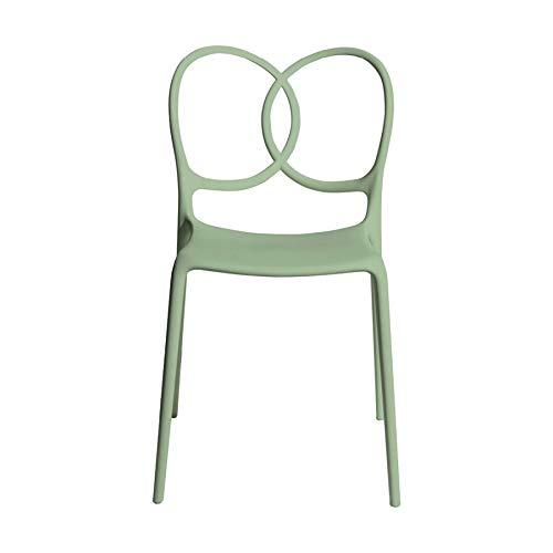driade Sissi - Silla (48 x 57 cm), Color Verde
