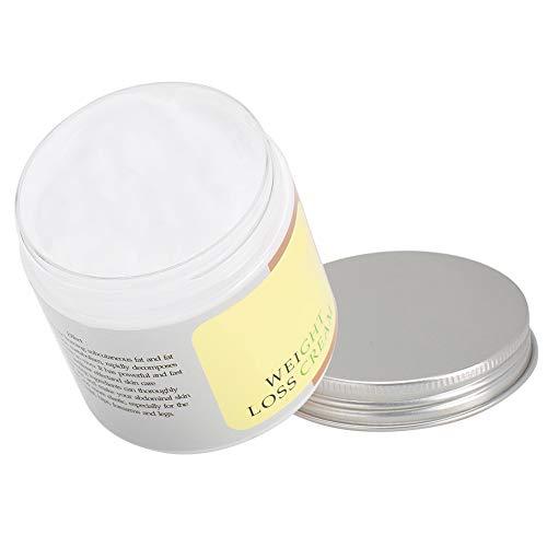 Crema adelgazante, práctica crema adelgazante simple, para abdomen, cuerpo, caderas, muslos