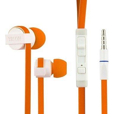 Yison Bluechip Travelline T8-E3 8 Zoll Tablet PC Orange High Performance in Ear Ear Stereo Kopfhörer (CX390) mit Mikrofon und Fernbedienung Gebaut
