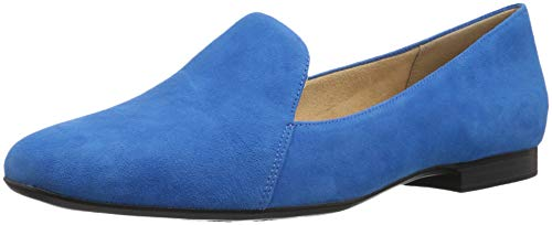 Price comparison product image Naturalizer Women's Emiline Loafer Flat,  Blue Suede,  7.5 M US