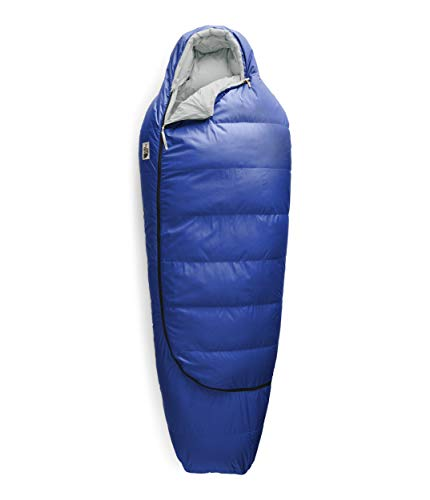 The North Face Eco Trail Down 20 Sleeping Bag - Men's TNF Blue/Tin Grey Short Right