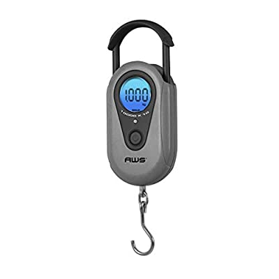 American Weigh Scales SR Series Industrial Precision Digital Hanging Scale, Gray, 1000g X 1 G (AMW-SR-1KG)