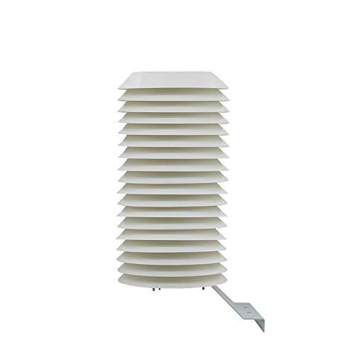 Otomatico Garita meteorológica Φ 220mm caseta estacion meteorológica para Centro meteorologico Exterior Centro Base metereologica (18 Platos)