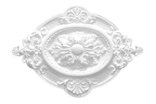 1 Deckenrosette | Innendekor | Stuck | EPS | Dekor | 570x400mm | R-4