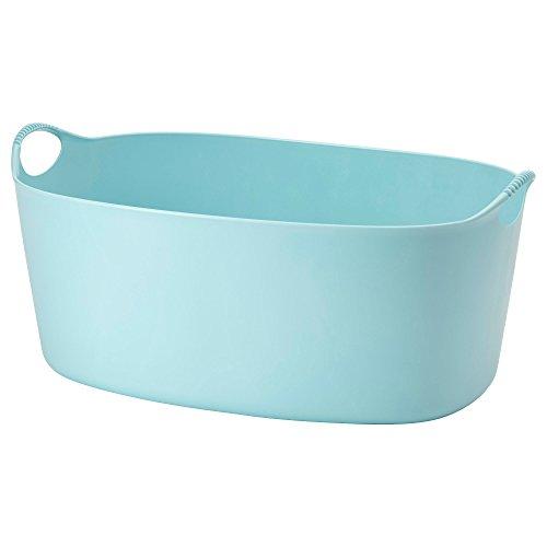 TORKIS IKEA Wäschekorb in blau; flexibel; (35l)
