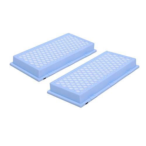Poweka Lot de 2 filtres HEPA SF-HA 30 9616270 compatibles avec Miele AirClean S2000, S300, S400, S500, S600, S700, S800, S7000, C1 canisters et Dynamic Series (Hepa Airclean 30 Filter)