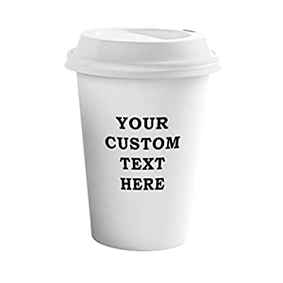 Custom Message Ceramic To Go Tumbler With Lid