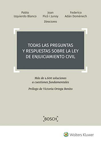 Todas las preguntas y respuestas sobre la Ley de Enjuiciamiento Civil. Más de 4.