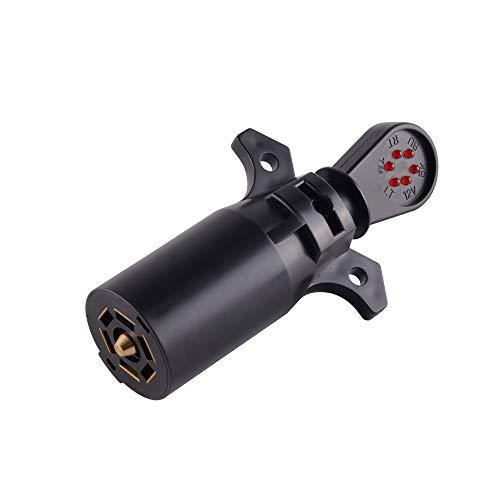 MAXXHAUL 50155 7-Way Blade Trailer Wiring Tester
