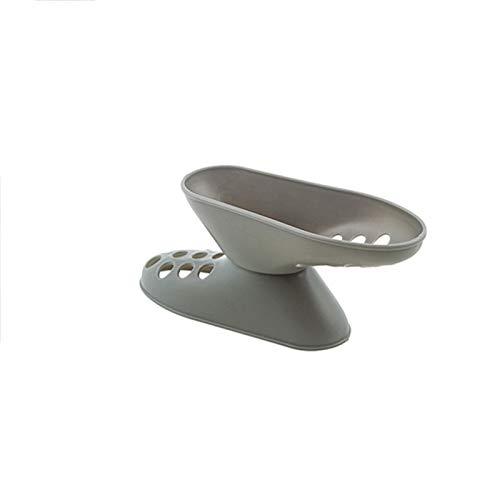 LJKD Estante de Almacenamiento de Zapatos, organice el Estante para Zapatos, Porta Zapatos de Doble Capa, portátil 14 * 5 * 4 cm,Gris