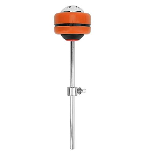 Martillo de tambor de percusión de artesanía exquisita de larga vida útil, para amantes del tambor, para reemplazar piezas de tambor(Orange)