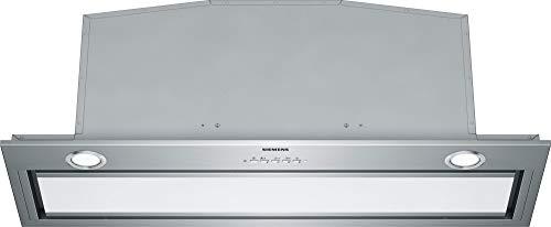 Siemens iQ700 LB89585M Dunstabzugshaube 800 m3/h Deckenintegriert Edelstahl A++ – Dunstabzugshaube (800 m3/h, Abluft/Umluft), A, D, 380 m³/h