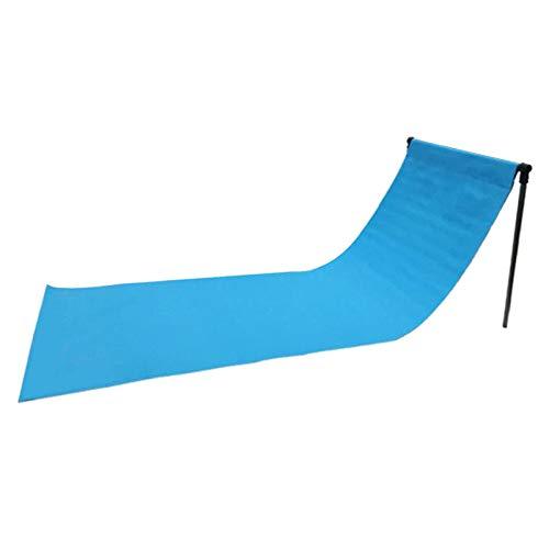 Gazechimp Sillas de Playa para Adultos, Plegables Y Ligeras: Sillas de Camping, Chaise Lounge, Sillas de Jardín para Relajarse Al Aire Libre Y Tomar El Sol - Azul